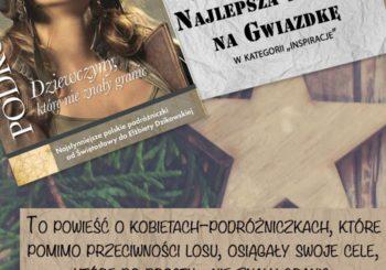 """""""Podróżniczki"""" NAJLEPSZĄ KSIĄŻKĄ NA GWIAZDKĘ 2018!"""